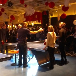 Flicker Club: Joining Richard Curtis for 'About Time' at BounceLondon