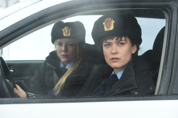 Mia Jexen and Alexandra Moen in Fortitude ©Sky Atlantic 2016