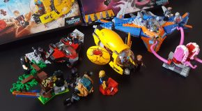 LEGO Review: Marvel's Guardians of the Galaxy Vol 2 sets and build blog!