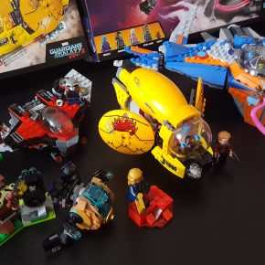 LEGO Review: Marvel's Guardians of the Galaxy Vol 2 sets and buildblog!