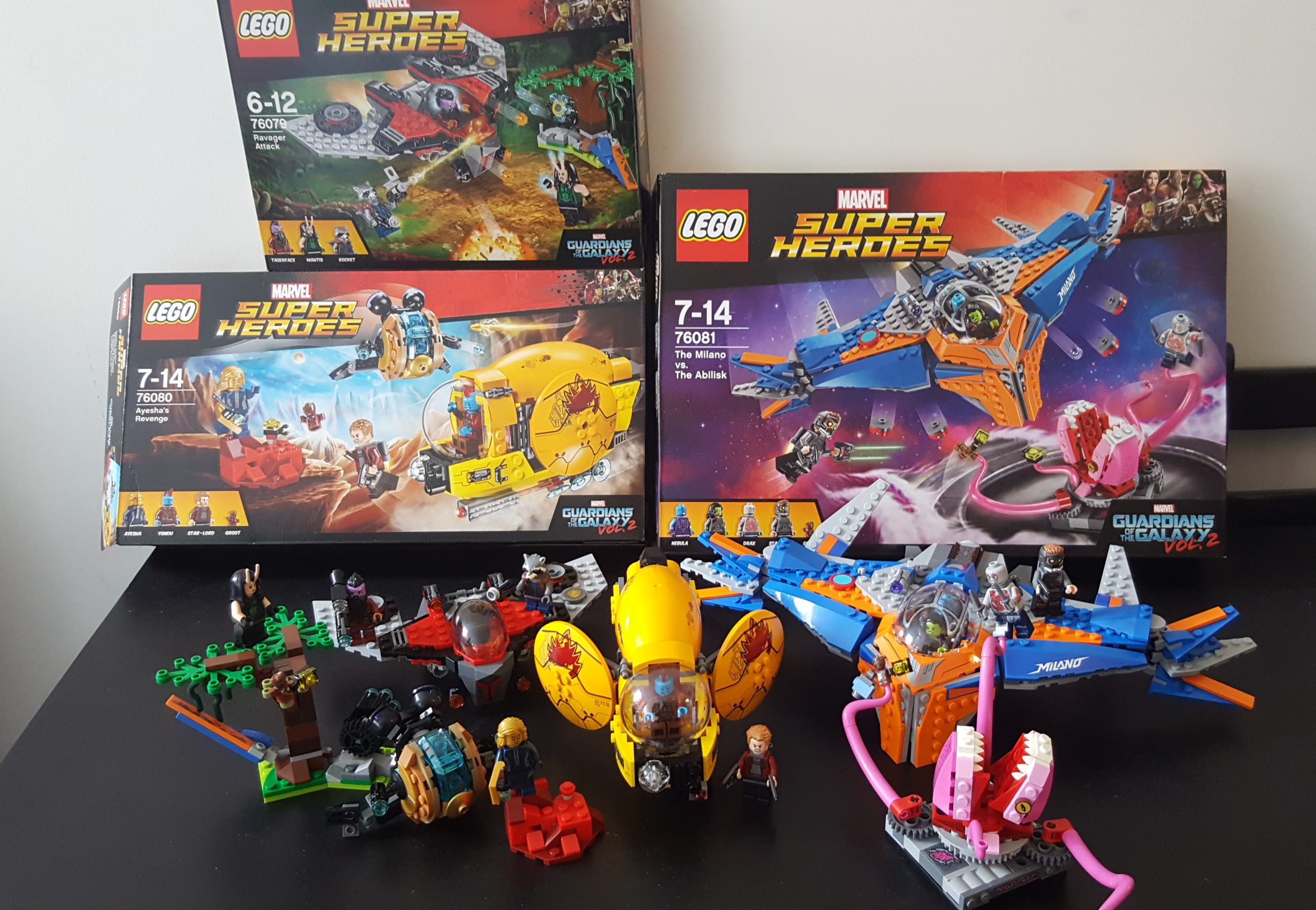 LEGO Review: Marvel's Guardians of the Galaxy Vol 2 sets