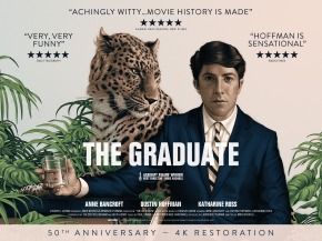 The 50th Anniversary 4K Restoration of The Graduate is coming to UKcinemas
