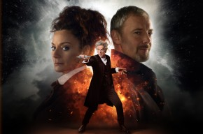 Your first look at The Master and Missy as we approach the Doctor Who S10 Finale!