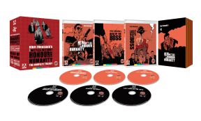 Win Kinji Fukasaku's 'New Battles Without Honour and Humanity: The Complete Trilogy' on Dual Format!