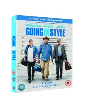 "Going in Style Blu-ray review ""Feel-good crime caper with a classic cast"""
