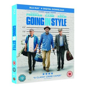 """Going in Style Blu-ray review """"Feel-good crime caper with a classiccast"""""""