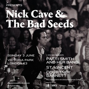 All Points East festival confirm Nick Cave and the Bad Seeds, Patti Smith, St Vincent for East London, June 2018