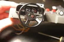 And that steering wheel