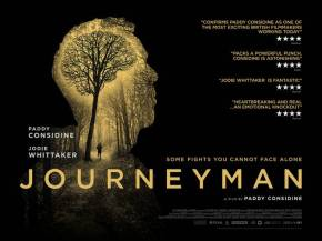 New poster and must-watch trailer for Paddy Considine's 'Journeyman'