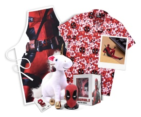 Win this awesome 'Deadpool 2' merchandise! **COMPETITIONCLOSED**