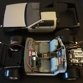 Building my own Back to The Future DeLorean [Parts 60 – 71 BuildBlog]