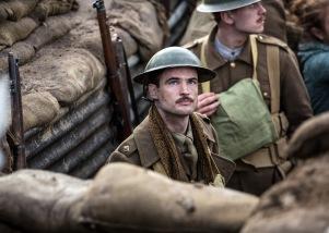 Tom Sturridge in Journey's End (Lionsgate UK)