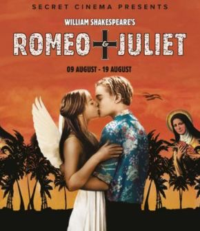 All the details: Secret Cinema's summer experience is William Shakespeare's Romeo +Juliet