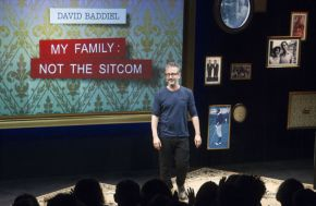 Review: David Baddiel My Family: Not The Sitcom at Exeter Northcott