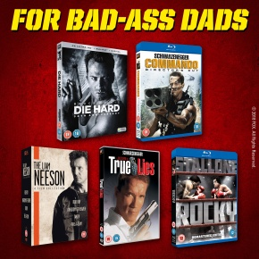 Win this huge 20th Century Fox Father's Day movie bundle – For Badass Dads! **COMPETITION CLOSED**