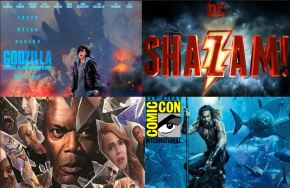 SDCC 2018 Trailer Round-Up: Glass, Godzilla: King of the Monsters, Aquaman and Shazam!