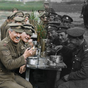 Watch the trailer for Peter's Jackson's unique WW1 film 'They Shall Not GrowOld'