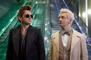 Watch the excellent first teaser for Neil Gaiman and Terry Pratchett's GoodOmens