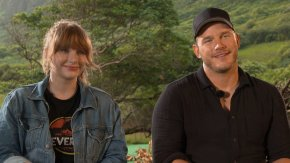 Interview: Chris Pratt and Bryce Dallas Howard chat about Jurassic World: Fallen Kingdom – Own it on Blu-ray/DVD on 5thNovember!