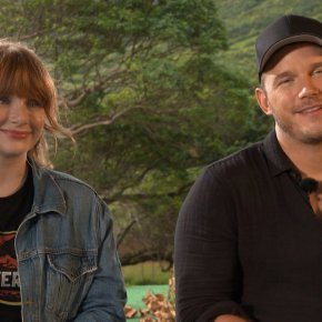 Interview: Chris Pratt and Bryce Dallas Howard chat about Jurassic World: Fallen Kingdom – Own it on Blu-ray/DVD on 5th November!