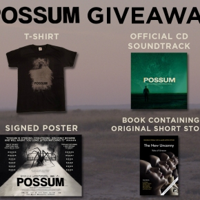 Win a bundle of goodies for 'Possum' – In Cinemas and On Demand Now! **COMPETITION CLOSED**