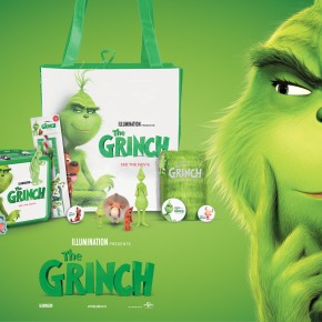 Win 'The Grinch' Goodies – Out in UK cinemas now! **Competition Closed**
