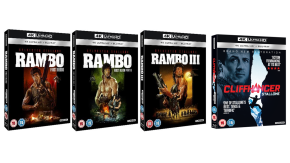 Win the Rambo Trilogy and Cliffhanger on 4KUHD!