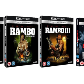 Win the Rambo Trilogy and Cliffhanger on 4K UHD! **Competition Closed**