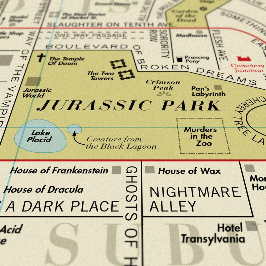 film-map-art-print-dorothy-jurassic-park_850x | critical popcorn