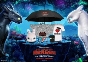 Win amazing 'How To Train Your Dragon: The Hidden World' goodies!