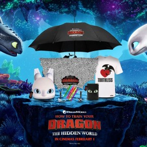 Win amazing 'How To Train Your Dragon: The Hidden World' goodies! **COMPETITION CLOSED**