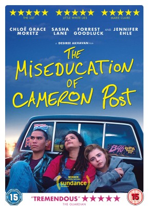 Twitter Competition: Win the book and DVD of 'The Miseducation of Cameron Post' **COMPETITIONCLOSED**