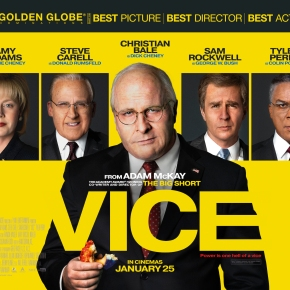 Vice review: Dir. Adam McKay (2019)