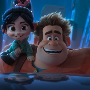 In the Official Film Chart 'Ralph Breaks The Internet' climbs to Number One!