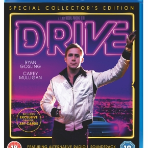 Special Edition of Nicolas Winding Refn's Drive coming to Blu-ray/DVD with alternative soundtrack on 13 May!