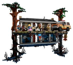 Get a look inside the amazing new LEGO Stranger Things: The Upside Downset!