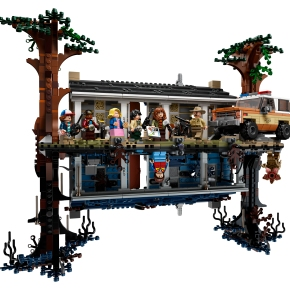 Get a look inside the amazing new LEGO Stranger Things: The Upside Down set!