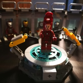 LEGO Set Review: Avengers Iron Man Hall of Armour (76125)