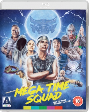 Win Arrow Video's 'Mega Time Squad' on Blu-ray and a time-travel bracelet! Oooh…