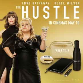 Win 'The Hustle' prizes – Out now in UK cinemas! **COMPETITION CLOSED**