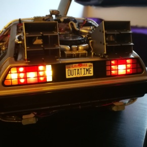 Building my own Back to The Future DeLorean [Parts 114 – 125 Build Blog]