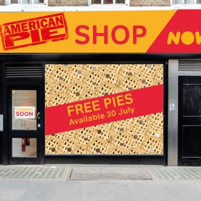 Stifler's Mom, Jennifer Coolidge, to open NOW TV's Pop-Up Pie Shop in London – For one-day only!