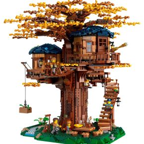 LEGO launch an outstanding LEGO Ideas Treehouse featuring plant-basedelements!