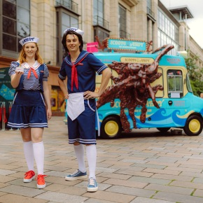 Stranger Things 'Scoops Ahoy' ice-cream van giving away FREE ice cream to Hawkins Roads across the UK!