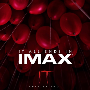 Great new IMAX exclusive artwork released for IT Chapter Two
