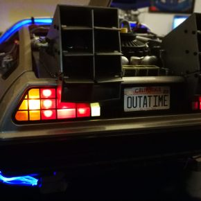 Building my own Back to The Future DeLorean [Parts 126 – 131 Build Blog]