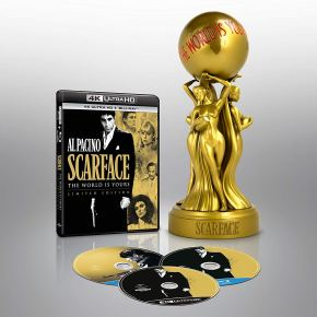 Say hello to the Scarface Gold Edition, available on 4K UHD for the first timeever