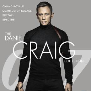 The Daniel Craig '007' Collection is coming to 4K UHD this November!