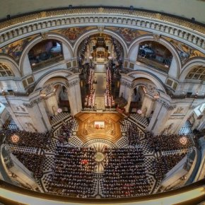 Film and TV stars come together for carol concert at St. Paul's for Cancer Research UK