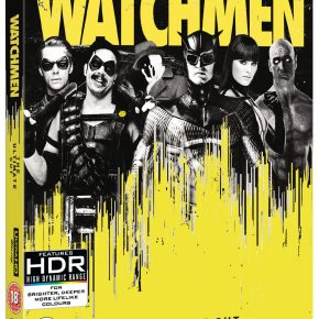 Watchmen: The Ultimate Cut on 4K UHD, Blu-ray and 4K Steelbook is on the way!